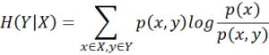 conditional entropy formula