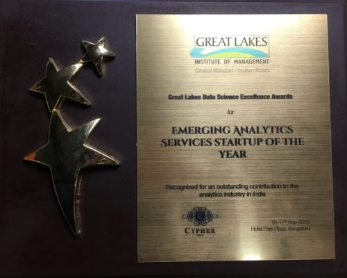 G-Square emerging analytics services award